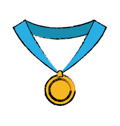 medal award win sport image vector image