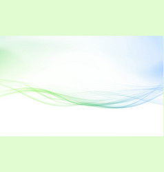 refreshing spring speed swoosh lines border vector image vector image