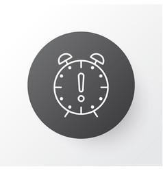 deadline icon symbol premium quality isolated vector image