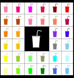 Drink sign felt-pen 33 vector