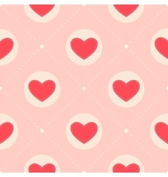 Pattern for Valentine s Day vector image vector image