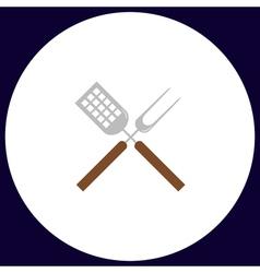 Cutters computer symbol vector