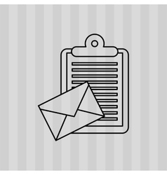Mail concept design vector