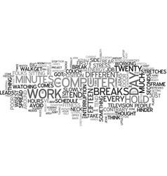 Are you a computer potato text word cloud concept vector