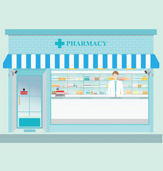 Drug store2 vector