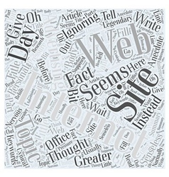 Internet web site advertising legendary word cloud vector