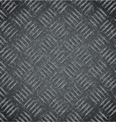 Metal dark gray texture background vector image vector image