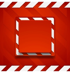 Red abstract geometric corporate background vector