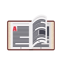 Ebook online reading internet icon graphic vector