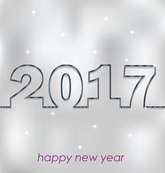 2017 happy new year for your backgrounds vector