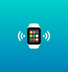 Smart watch flat design vector