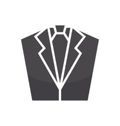 tuxedo logo design template Jacket logo vector image