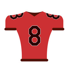 american football related icon image vector image