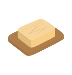 Butter icon bakery design graphic vector