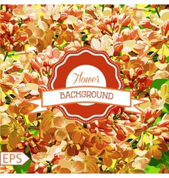 Spring pattern for the design of flowers vector image vector image
