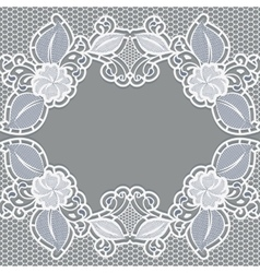 Background with white lace It can be used as a vector image