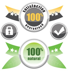 100 natural satisfaction vector
