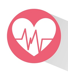 Cardiology icon design vector