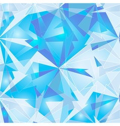 Abstract Polygonal Background Ice vector image