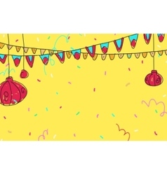 Celebratory background vector
