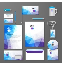 Corporate brand business identity design template vector