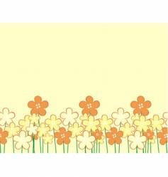 flora vector image vector image