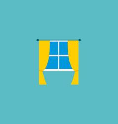 icon flat window element of vector image