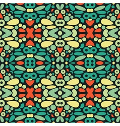 Kaleidoscope background vector image