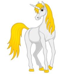 cartoon fairy unicorn vector image