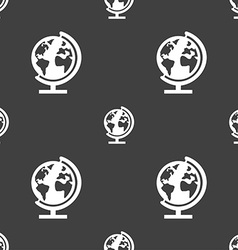 Globe sign icon world map geography symbol globes vector