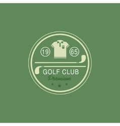 Glod club emblem vector