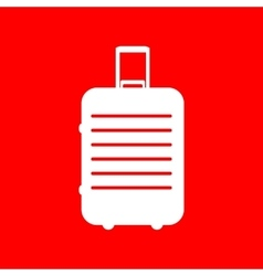 Baggage sign vector