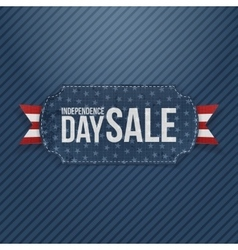 Independence day sale national tag vector