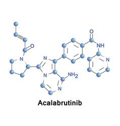 Acalabrutinib experimental anti-cancer drug vector