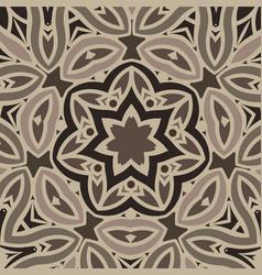 Background stylized flowers mandala vector