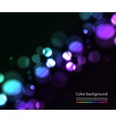 Bokeh lights effects vector