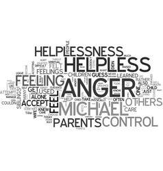 Are you addicted to anger text word cloud concept vector