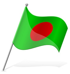 Flag of bangladesh vector
