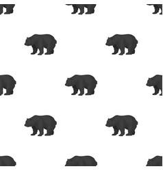 canadian brown bear canada single icon in vector image vector image