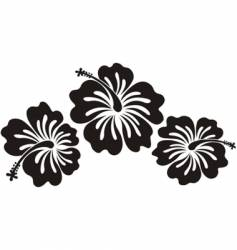 Honolulu flower vector image