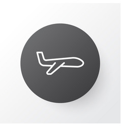 Plane icon symbol premium quality isolated air vector