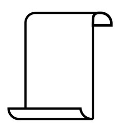 Paperhangings icon vector