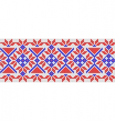 Folk ornament vector