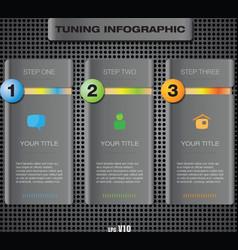 Info tuning123 vector