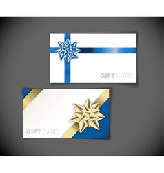 modern gift vector image