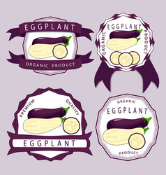 The blue eggplant vector