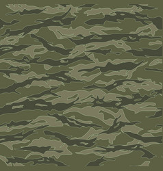Vietnam tiger stripe camouflage seamless patterns vector