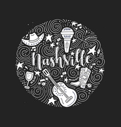 The symbols of nashville vector