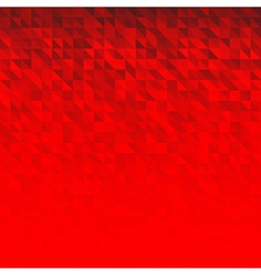 Abstract Red Geometric Technology Background vector image vector image