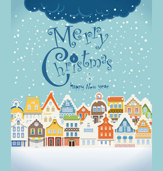 Christmas greating card vector